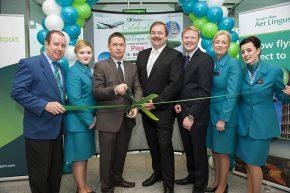 Matt Smith(left), Emily McGuinness with Declan Kearney, John Keogh, Stephen O'Reilly, Irene Ward and Cara Dunne.