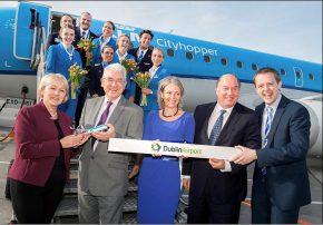 KLM launch