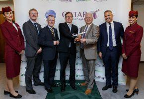 Dub+ Dublin Airport Qatar Airways Launch