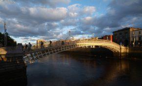 The Ha'penny Bridge Dublin Airport Dub+