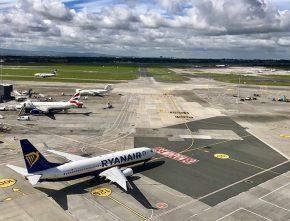 Dub+ Dublin Airport Ryanair announcement