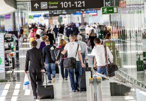 busy dublin airport dubplus