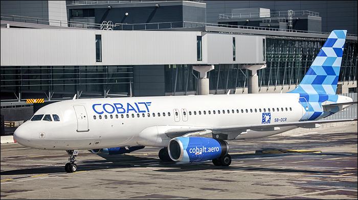 Dublin Airpot Cobalt