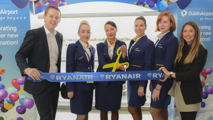 Dublin Airport DUB+ Stuttgard Ryanair Launch