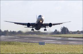 Dublin Airport DUB+ plane-taking-off