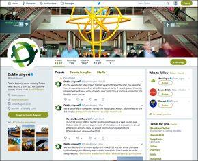 Dublin Airport DUB+ twitter