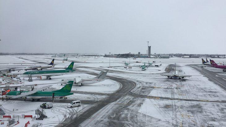 DUB+ Dublin Airport Update on Storm Emma