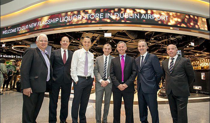 Dublin Airport DUB+ New Liqour Store