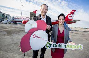 Dublin Airport DUB+ Laudamotion launch