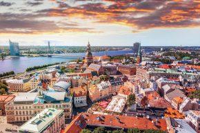 Dublin Airport DUB+ AirBaltic Riga Launch