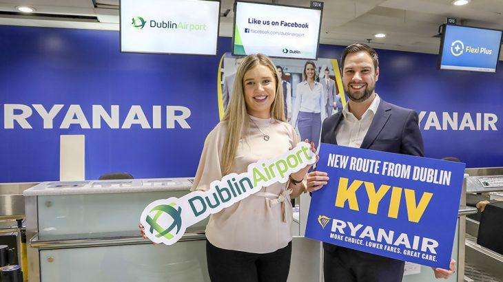 Dublin Airport DUB+ Ryanair Launches New Dublin-Kyiv Service